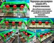 Террариум для грызунов модель № 1.(с тремя отсеками).